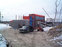 The Shania Twain Centre building is coming up..:)