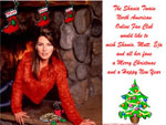 Happy Holidays to All Shania Fans!