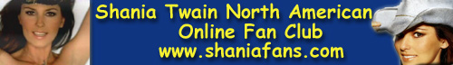 Join the Shania Twain North American Online Fan Club!